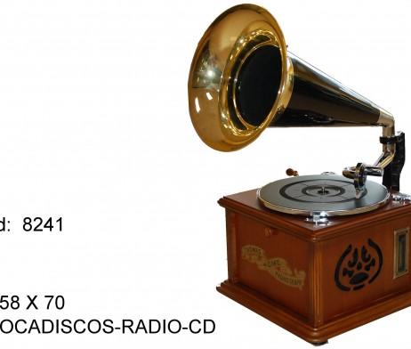 TOCADISCOS RADIO Y CD