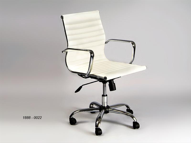 Silla oficina blanca alto 98 cms casablanca reus - Sillas oficina valencia ...