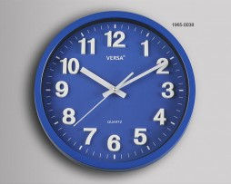 RELOJ PARED AZUL DIAMETRO 30 CMS