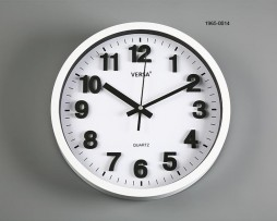 RELOJ PARED BLANCO DIAMETRO 30 CMS