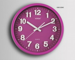 RELOJ PARED FUCSIA DIAMETRO 30 CMS