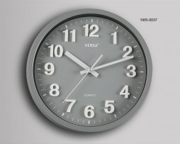 RELOJ PARED GRIS DIAMETRO 30 CMS