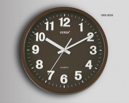RELOJ PARED MARRON DIAMETRO 30 CMS