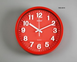 RELOJ PARED ROJO DIAMETRO 30 CMS